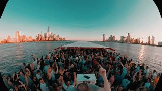 The view from up here | Aly & Fila 360 |  NYC Sunset Boat Cruise