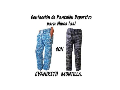 Pantalon Deportivo Para Ninas Y Ninos Youtube