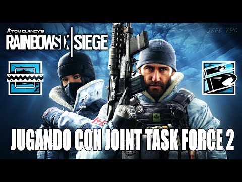 Rainbow Six: Siege | JUGANDO CON JOINT TASK FORCE 2 - EN DIRECTO | Gameplay en Español [1080p 60fps]