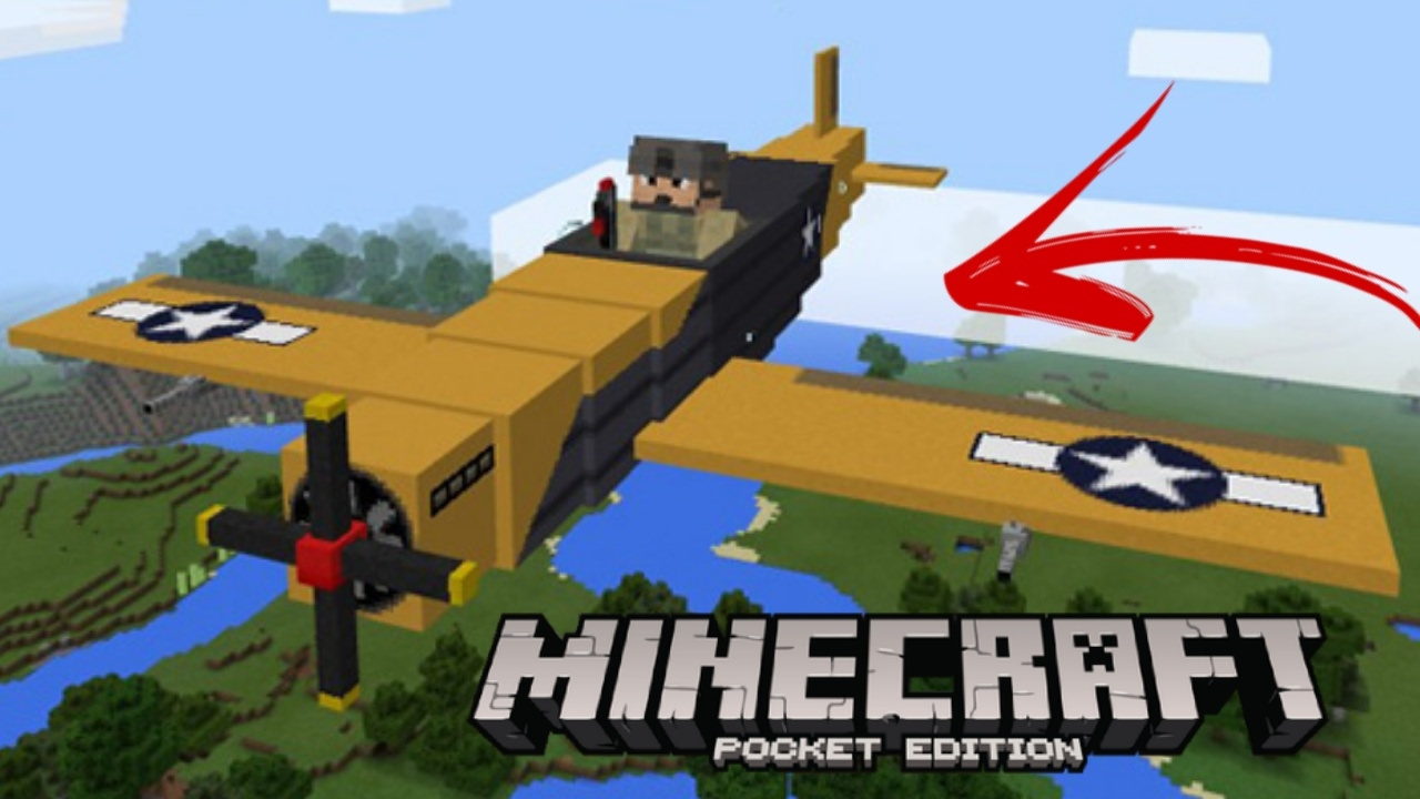 Addons mcpe avi o de guerra para minecraft pocket edition for Casa moderna minecraft pe 0 10 4