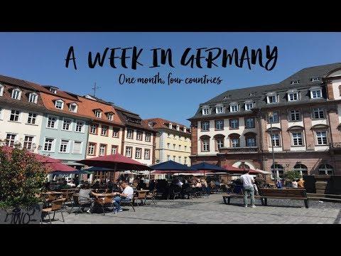 One Week In Germany: travel vlog