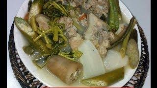 Sinigang Na Buto-buto Ng Baboy (pork Bones Sour Stew)