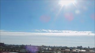 地震雲が発生 11月1日名古屋(断層形地震雲) 地震雲 検索動画 25