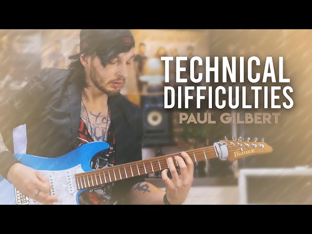TECHNICAL DIFFICULTIES -  PAUL GILBERT / RACER X (Guitar & Drum Cover)