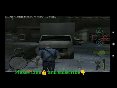 Manhunt Ps2 Game On Android Mobile Damon Ps2 Pro Emulator.