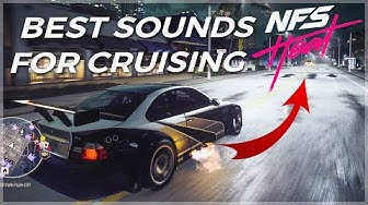 NFS Heat | 44 Perfect Cars for Cruising | Best Sounding Cars (NO MORE CAMERA SHAKING! 👏🏽) [4K]