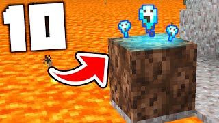 10 Blocks With SECRETS in Minecraft 1.16!