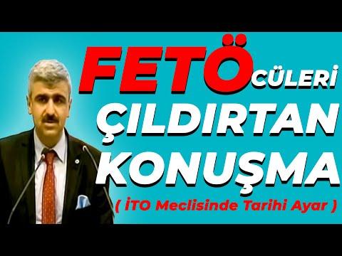 Mustafa Albayrak'ın FETÖ üyelerini çıldırtan İTO Meclis konuşması.