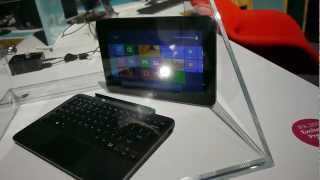 Dell XPS 10 Tablet with Dock Eyes On
