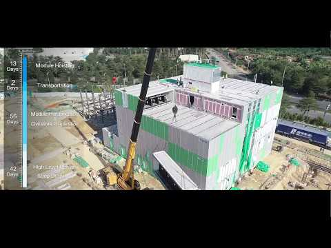 Fast, install a Cloud Data Center in 13 Days-Huawei Cloud Prefabricated Modular Data Center