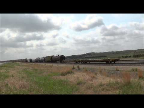 Trains in Nebraska, Wyoming, & Colorado Featuring Amazing scenery!