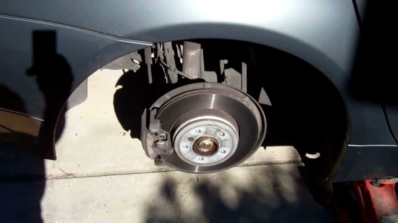 bmw 5 series brake pad replacement tutorial 2004 2010 youtube rh youtube com 2007 BMW 525I Engine 2007 BMW 525I Black