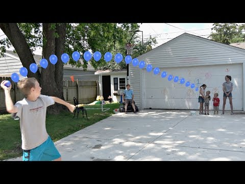 Thumbnail: Water Balloon Throwing Challenge! | That's Amazing