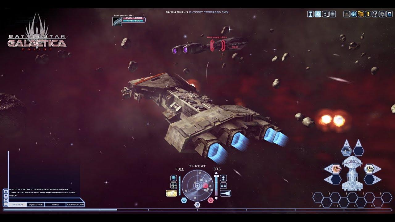 Battlestar Galactica Online Schiffe