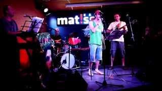 """JAH MACETAS 3000 feat. Payoh Soul Rebel & Ivan X """"Andar"""" Live at Matisse. 21/06/2014"""