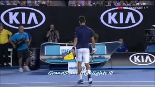 Djokovic vs Federer Australian Open 2016