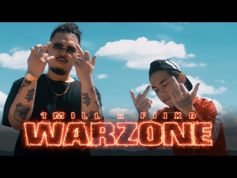 """1MILL - """"WARZONE"""" FT. FIIXD (OFFICIAL MV)"""