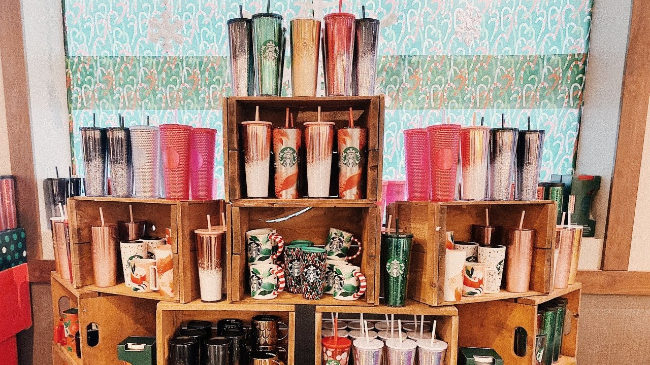 Starbucks Christmas Cups 2020 Starbucks Holiday Cups 2019 Review FROM INSIDE STARBUCKS!! Hot