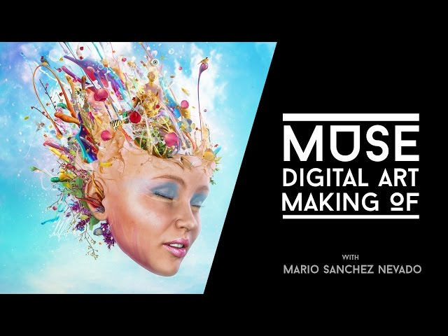 Muse  - Photoshop Digital Art Making Of