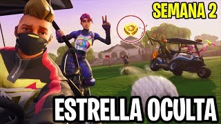 ✅ LOCATION SECRET STAR WEEK 2 Fortnite Season 5 ⭐