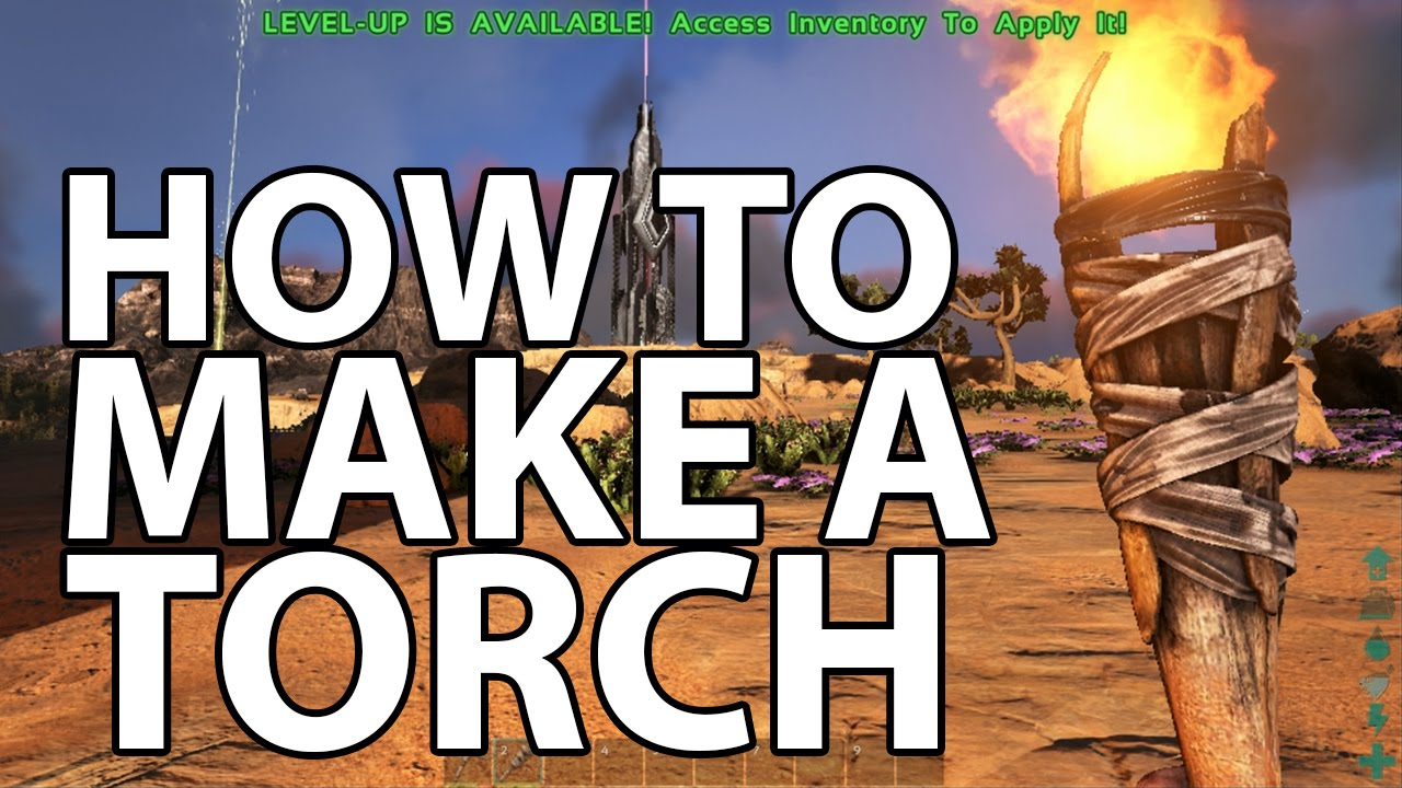 Ark survival evolved how to make a torch youtube ark survival evolved how to make a torch malvernweather Choice Image