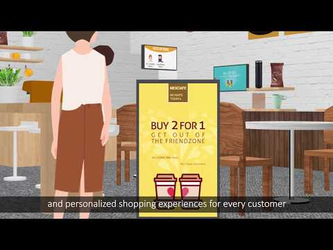NEXCOM Smart Business: Smart Self Ordering Kiosk Solution for Coffee Shop