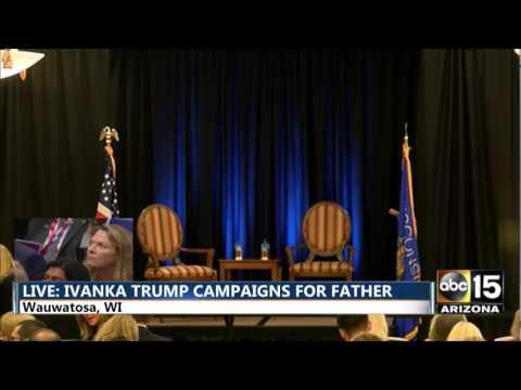 LIVE: Ivanka Trump campaigns in Wauwatosa, WI