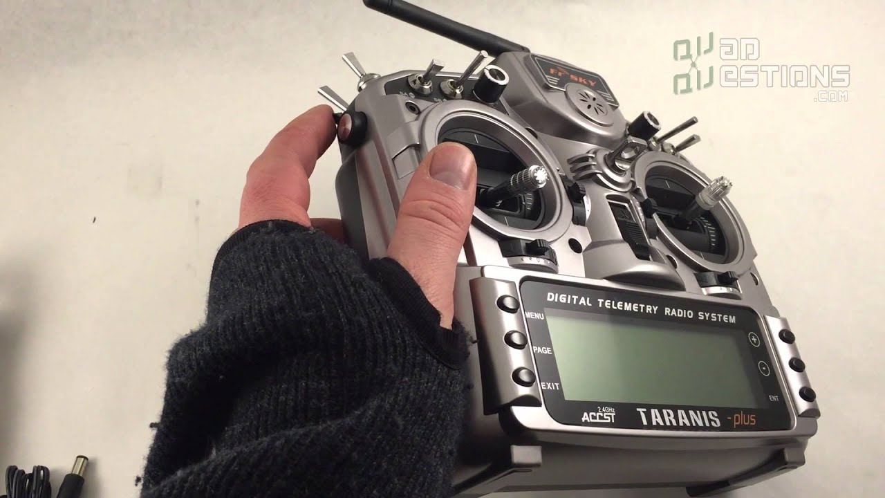 FrSky Taranis X9D Plus radio transmitter Quadcopter controller Overview