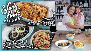 [Judy Ann's Kitchen 9] Episode 5 : Beef Steak & Super Fried Rice and Super Mac & Cheese | Kids' Baon