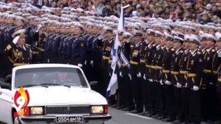 Владивосток. Парад Победы 9 мая 2016(По центральной улице Владивостока прошли колонны военнослужащих, военная техника. На параде были представ..., 2016-05-09T13:13:47.000Z)