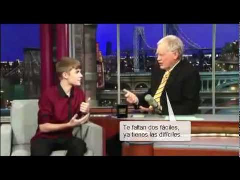 (HD) Justin Bieber doesn't know the continents?! (The Late Show)