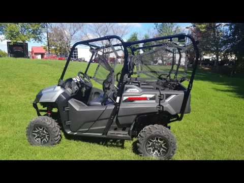 ALL NEW 2017 HONDA PIONEER 700-4 DELUXE