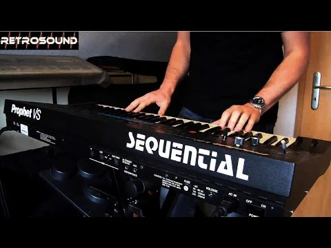 """Sequential Prophet VS Synthesizer (1986) """"Vector 4"""""""