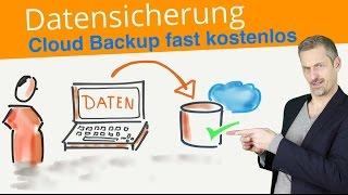 Datensicherung Cloud-Backup ✅  Festplatte sichern | Automatisches Backup Programm Deutsch für 5$