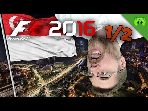 ÜBERSCHLAG!   Singapur 1/2 🎮 F1 2016 #43