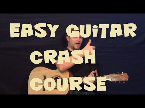 Easy Guitar Strum Crash Course for Beginners - First Lesson