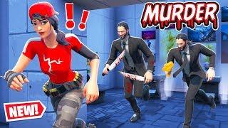ESCAPE the MUSEUM Killer! (Fortnite Murder Mystery)