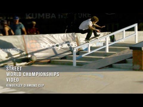 Kimberley Diamond Cup Street World Championships Video - TransWorld SKATEboarding