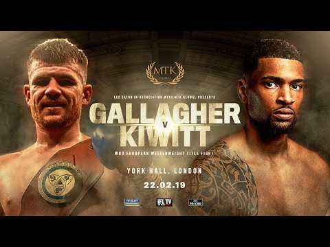 WATCH LIVE: Paddy Gallagher vs Freddy Kiwitt - MTK Boxing