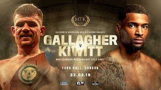 MTK LONDON FOR MTK GLOBAL (LONSDALE) ... PRESENTS *PROFESSIONAL BOXING* - LIVE FROM YORK HALL!
