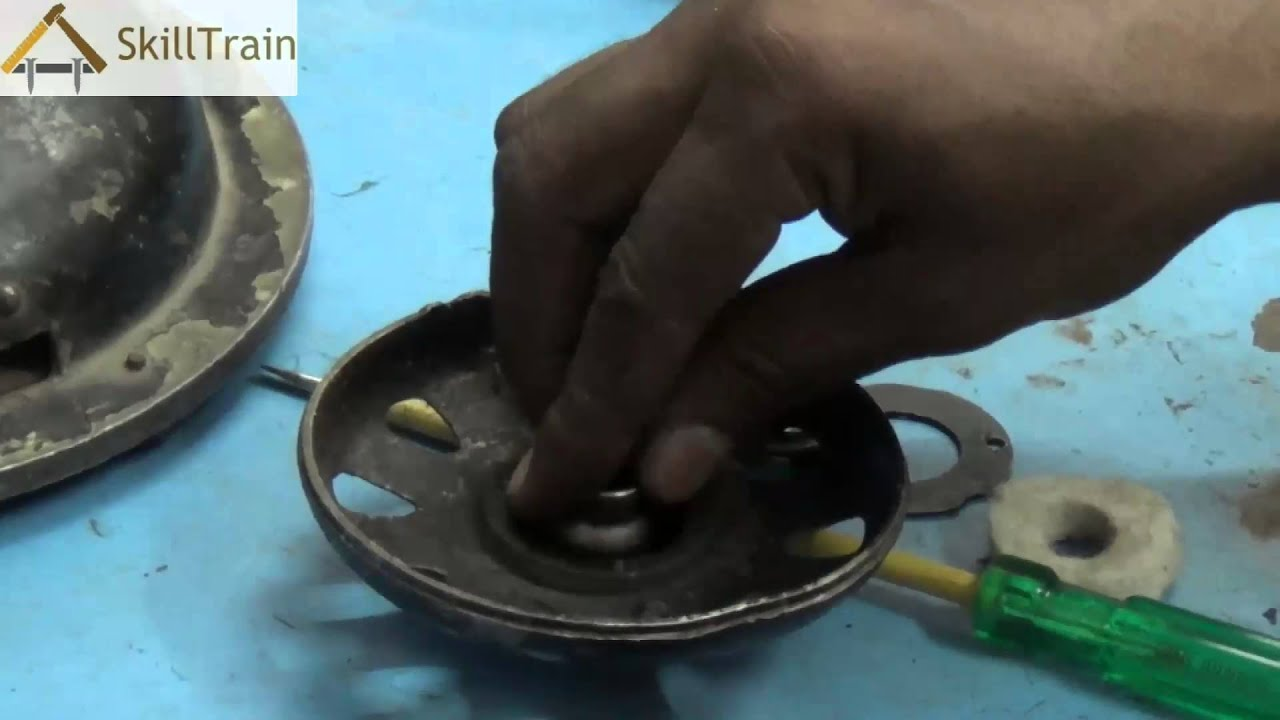 Learning to replace the Bush of a Table Fan Motor Hindi