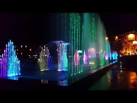 Ванадзор.Поющие фонтаны,пробные работы. #DBALAV@ #ARIVANADZOR Vanadzor.Singing Fountains,trial Works