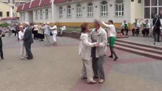 Вальс - Дунайские волны - танцуют на Советской