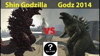 Shin Godzilla và Godzilla 2014, ai mạnh hơn? || con nào sẽ thắng #51 || Bạn Có Biết?