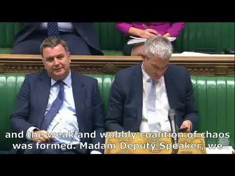 Thelma Walker MP - Speech in House - Alternative budget