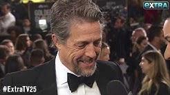 Hugh Grant Jokes About Wife Anna Eberstein Crying on Their Honeymoon