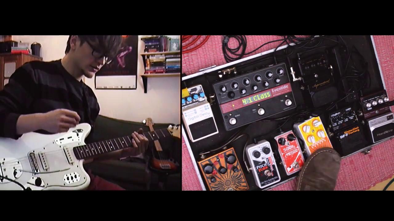 guitar pedalboard tutorial shoegaze dream pop youtube. Black Bedroom Furniture Sets. Home Design Ideas