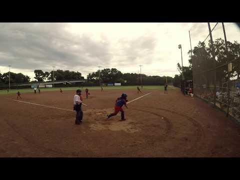 Team Tampa Keithly vs Lady Bombers 10U