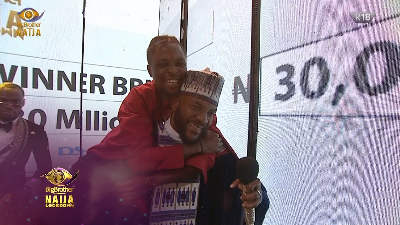 Finale: Laycon is the winner of BBNaija Lockdown | Big Brother: Lockdown