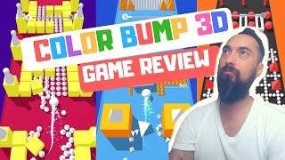COLOR BUMP 3D - GAME PLAY REVIEW 336 - TIPS n TRICKS TO STAY ALIVE! #1 in Action 🤔🤩🥳